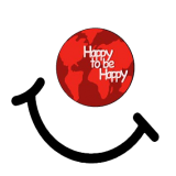 happy to be happy logo